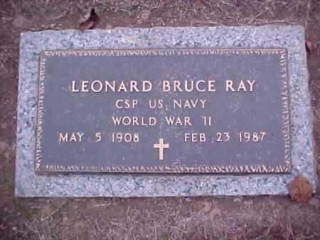 RAY (VETERAN WWII), LEONARD BRUCE - Crittenden County, Arkansas | LEONARD BRUCE RAY (VETERAN WWII) - Arkansas Gravestone Photos
