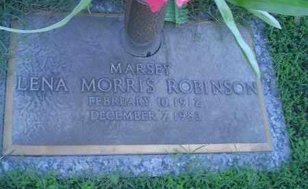 MORRIS ROBINSON, LENA - Crittenden County, Arkansas | LENA MORRIS ROBINSON - Arkansas Gravestone Photos