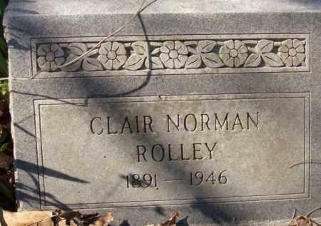 ROLLEY, CLAIR NORMAN - Crittenden County, Arkansas | CLAIR NORMAN ROLLEY - Arkansas Gravestone Photos