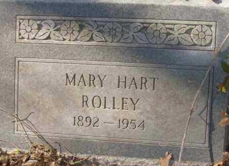 ROLLEY, MARY HART - Crittenden County, Arkansas | MARY HART ROLLEY - Arkansas Gravestone Photos