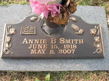 SMITH, ANNIE B - Crittenden County, Arkansas   ANNIE B SMITH - Arkansas Gravestone Photos