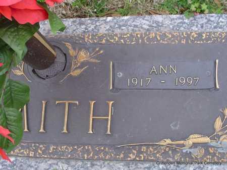 SMITH, ANN - Crittenden County, Arkansas | ANN SMITH - Arkansas Gravestone Photos
