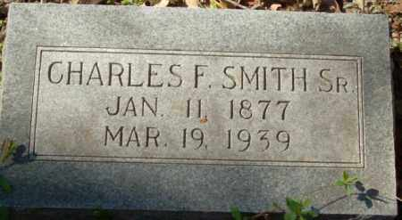 SMITH, CHARLES F., SR. - Crittenden County, Arkansas   CHARLES F., SR. SMITH - Arkansas Gravestone Photos