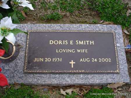 SMITH, DORIS E - Crittenden County, Arkansas   DORIS E SMITH - Arkansas Gravestone Photos