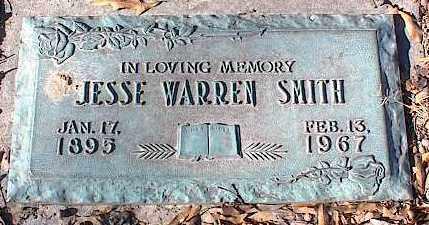 SMITH, JESSE WARREN - Crittenden County, Arkansas   JESSE WARREN SMITH - Arkansas Gravestone Photos