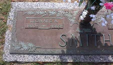 SMITH, LEONARD A - Crittenden County, Arkansas | LEONARD A SMITH - Arkansas Gravestone Photos