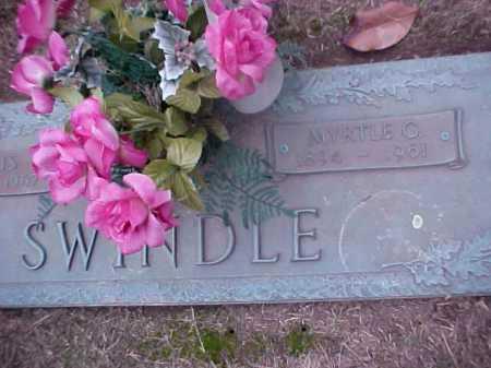 SWINDLE, MYRTLE G - Crittenden County, Arkansas | MYRTLE G SWINDLE - Arkansas Gravestone Photos