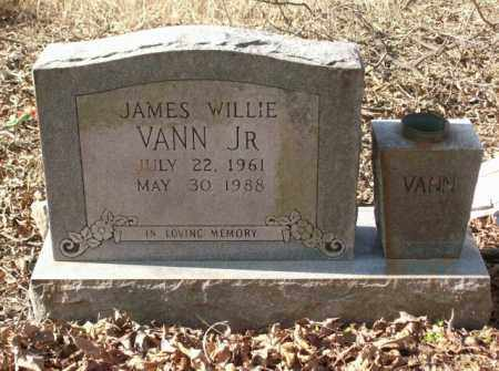 VANN, JAMES WILLIE, JR. - Crittenden County, Arkansas | JAMES WILLIE, JR. VANN - Arkansas Gravestone Photos
