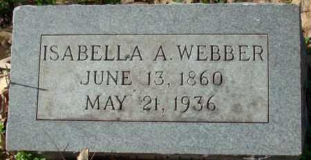 WEBBER, ISABELLA A.. - Crittenden County, Arkansas | ISABELLA A.. WEBBER - Arkansas Gravestone Photos