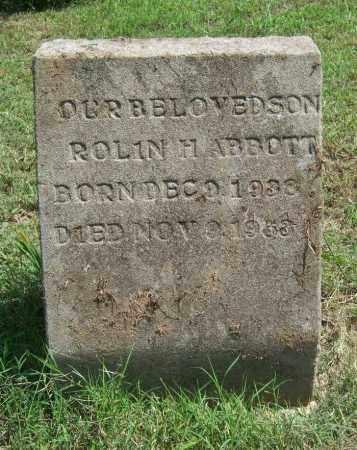 ABBOTT, ROLIN H - Cross County, Arkansas | ROLIN H ABBOTT - Arkansas Gravestone Photos