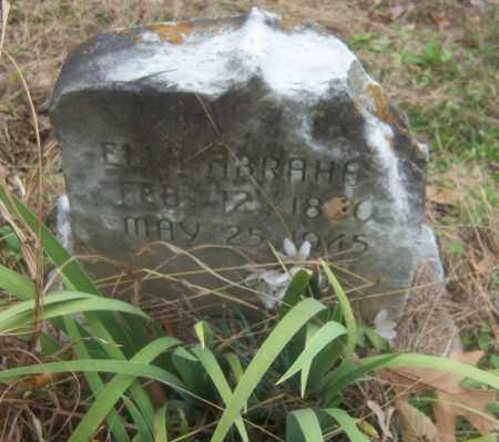 ABRAHAM, ELLA - Cross County, Arkansas   ELLA ABRAHAM - Arkansas Gravestone Photos