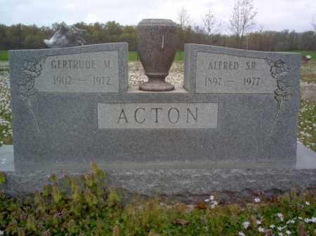 ACTON, SR., ALFRED - Cross County, Arkansas | ALFRED ACTON, SR. - Arkansas Gravestone Photos