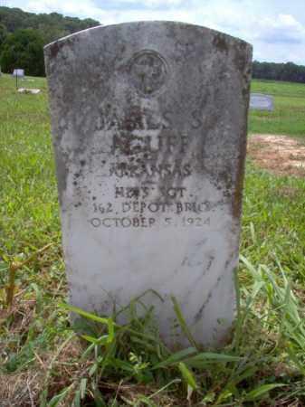 ACUFF (VETERAN), JAMES S - Cross County, Arkansas | JAMES S ACUFF (VETERAN) - Arkansas Gravestone Photos