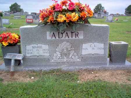 ADAIR, MARIE - Cross County, Arkansas | MARIE ADAIR - Arkansas Gravestone Photos