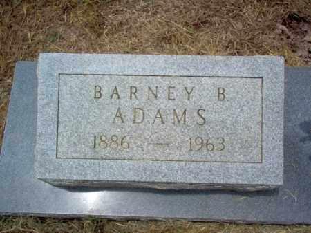 ADAMS (VETERAN WWI), BARNEY BAKER - Cross County, Arkansas | BARNEY BAKER ADAMS (VETERAN WWI) - Arkansas Gravestone Photos