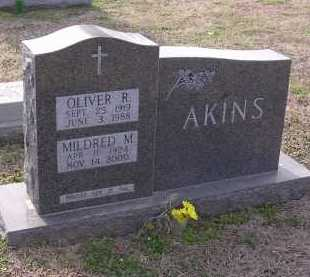 AKINS, OLIVER R - Cross County, Arkansas | OLIVER R AKINS - Arkansas Gravestone Photos