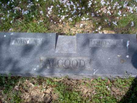 ALGOOD, JOHN W - Cross County, Arkansas | JOHN W ALGOOD - Arkansas Gravestone Photos