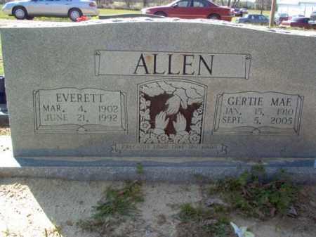 ALLEN, GERTIE MAE - Cross County, Arkansas | GERTIE MAE ALLEN - Arkansas Gravestone Photos