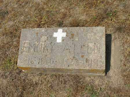 ALLEN, EMORY - Cross County, Arkansas   EMORY ALLEN - Arkansas Gravestone Photos