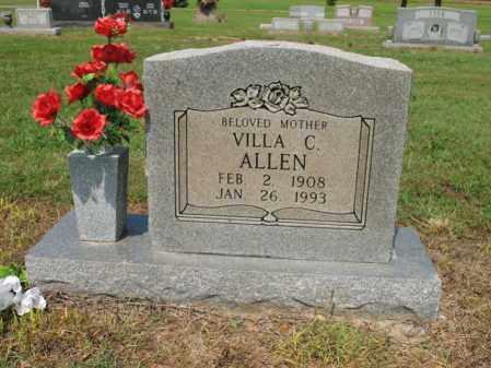 ALLEN, VILLA C - Cross County, Arkansas | VILLA C ALLEN - Arkansas Gravestone Photos