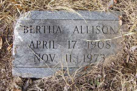 ALLISON, BERTHA - Cross County, Arkansas | BERTHA ALLISON - Arkansas Gravestone Photos