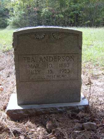 ANDERSON, TEA - Cross County, Arkansas | TEA ANDERSON - Arkansas Gravestone Photos