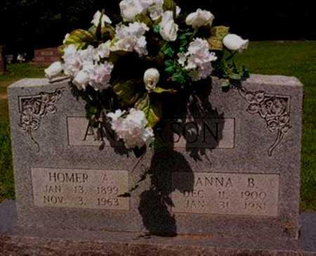 ANDERSON, ANNA B. - Cross County, Arkansas | ANNA B. ANDERSON - Arkansas Gravestone Photos