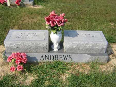 WOODY ANDREWS, DISY LENORA - Cross County, Arkansas | DISY LENORA WOODY ANDREWS - Arkansas Gravestone Photos