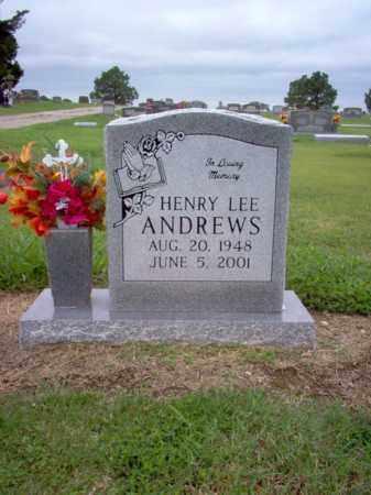 ANDREWS, HENRY LEE - Cross County, Arkansas | HENRY LEE ANDREWS - Arkansas Gravestone Photos