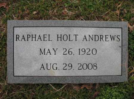 ANDREWS, RAPHAEL HOLT - Cross County, Arkansas | RAPHAEL HOLT ANDREWS - Arkansas Gravestone Photos