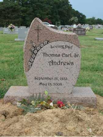 ANDREWS, SR, THOMAS EARL - Cross County, Arkansas | THOMAS EARL ANDREWS, SR - Arkansas Gravestone Photos