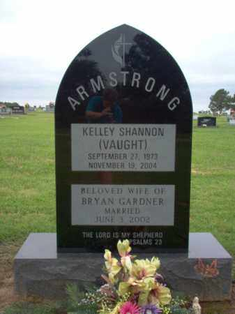 VAUGHT ARMSTRONG, KELLEY SHANNON - Cross County, Arkansas | KELLEY SHANNON VAUGHT ARMSTRONG - Arkansas Gravestone Photos