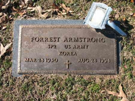 ARMSTRONG (VETERAN KOR), FORREST - Cross County, Arkansas   FORREST ARMSTRONG (VETERAN KOR) - Arkansas Gravestone Photos