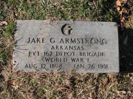ARMSTRONG (VETERAN WWI), JAKE G - Cross County, Arkansas   JAKE G ARMSTRONG (VETERAN WWI) - Arkansas Gravestone Photos