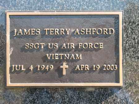 ASHFORD (VETERAN VIET), JAMES TERRY - Cross County, Arkansas   JAMES TERRY ASHFORD (VETERAN VIET) - Arkansas Gravestone Photos