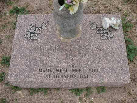 ASKINS, HELEN J - Cross County, Arkansas   HELEN J ASKINS - Arkansas Gravestone Photos