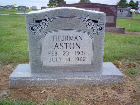 ASTON, THURMAN - Cross County, Arkansas | THURMAN ASTON - Arkansas Gravestone Photos