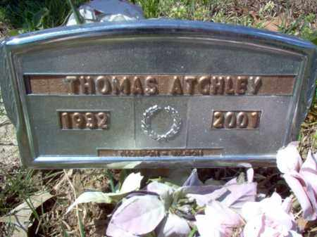 ATCHLEY, THOMAS - Cross County, Arkansas | THOMAS ATCHLEY - Arkansas Gravestone Photos