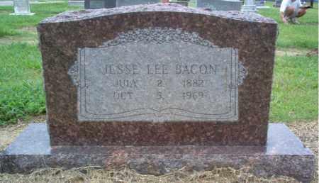 BACON, JESSE LEE - Cross County, Arkansas   JESSE LEE BACON - Arkansas Gravestone Photos
