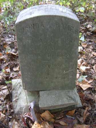 BAKER, LUCINDA - Cross County, Arkansas | LUCINDA BAKER - Arkansas Gravestone Photos