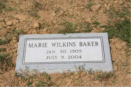 BAKER, MARIE - Cross County, Arkansas | MARIE BAKER - Arkansas Gravestone Photos