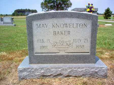 BAKER, MAY - Cross County, Arkansas | MAY BAKER - Arkansas Gravestone Photos