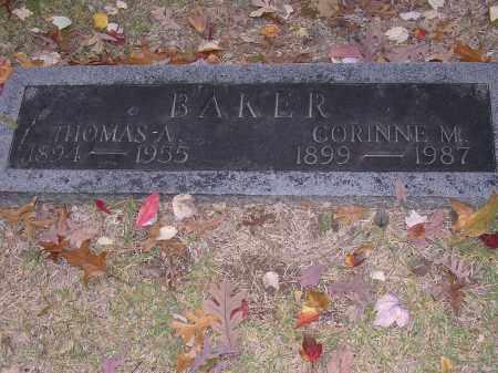 BAKER, CORINNE M - Cross County, Arkansas | CORINNE M BAKER - Arkansas Gravestone Photos