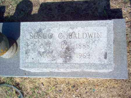 BALDWIN  (2), SESCO C - Cross County, Arkansas | SESCO C BALDWIN  (2) - Arkansas Gravestone Photos
