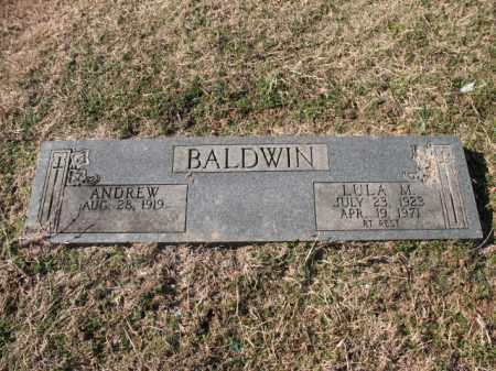 BALDWIN, ANDREW - Cross County, Arkansas | ANDREW BALDWIN - Arkansas Gravestone Photos