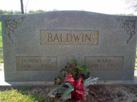 BALDWIN, DONNIE R - Cross County, Arkansas | DONNIE R BALDWIN - Arkansas Gravestone Photos