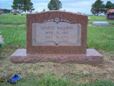 BALDWIN, ERNEST - Cross County, Arkansas   ERNEST BALDWIN - Arkansas Gravestone Photos