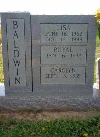 BALDWIN, LISA - Cross County, Arkansas | LISA BALDWIN - Arkansas Gravestone Photos
