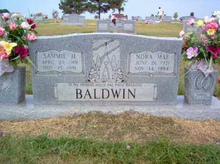 BALDWIN, SAMMIE H - Cross County, Arkansas | SAMMIE H BALDWIN - Arkansas Gravestone Photos