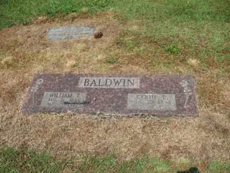 BALDWIN, GERTIE E - Cross County, Arkansas | GERTIE E BALDWIN - Arkansas Gravestone Photos